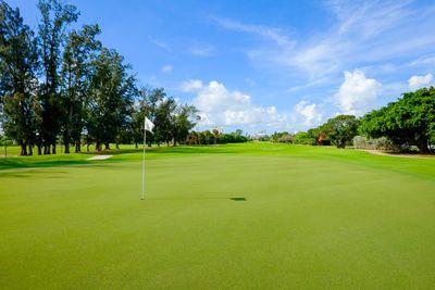 Cape Haze Florida Gold Course Green